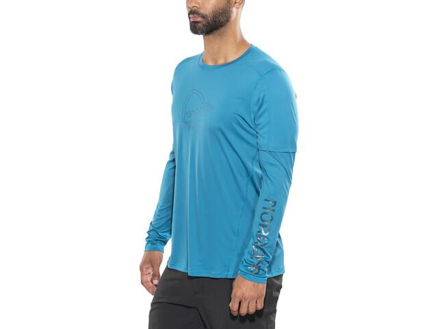 Norrøna /29 Tech Long Sleeve Shirt Men Torrent Blue